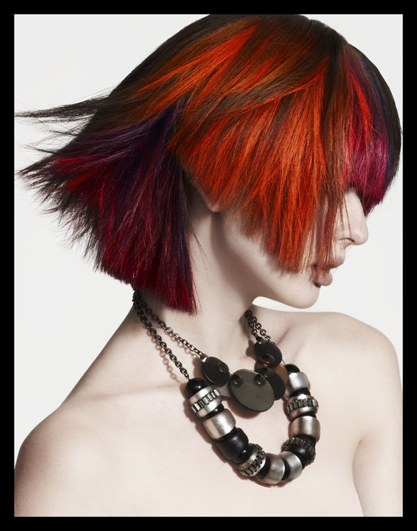 bright red hair styles 17 best ideas about bright hairstyles on 3539 | 5855fe34b390f1e51cd6f0289943377f