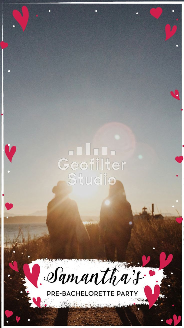 Whether its a pre-bachelorette, bachelorette, or post-bachelorette party, a custom designed Snapchat Geofilter is a perfect addition! We work with clients directly to create beautiful designs based on your needs! #bride #bachelorette #bacheloretteparty #wedding #geofilter #snapchat #snapchatfilter