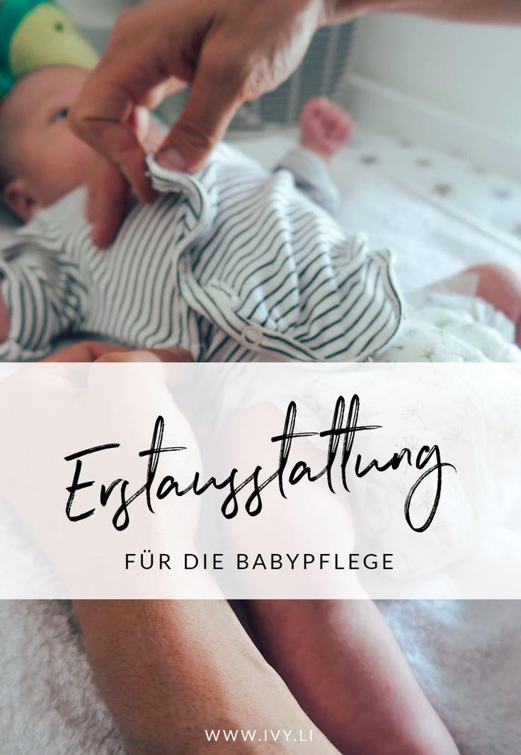 Erstausstattung für die Babypflege   Pflegeprodukte   Wickeln   Windeln wechseln   Baby baden   Wunder Babypo   ivy.li