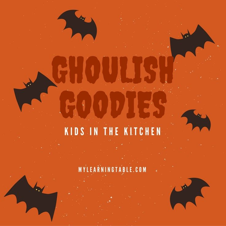 When the kids come in from trick-or-treating, Ghoulish Goodies inspires my junior chef to create some surprising and fun munchies to fill them up.