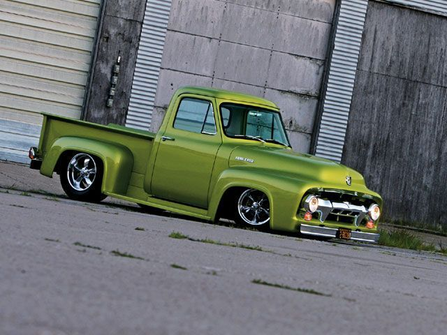 Visit The MACHINE Shop Café... ❤ Best of Trucks @ MACHINE ❤ (1954 Ford F100 Pickup Truck)