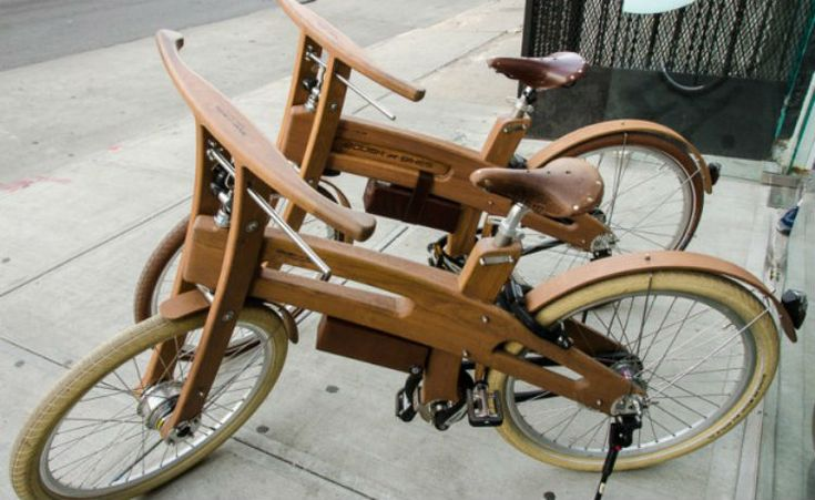 Bough Bike: a bicicleta elétrica de madeira