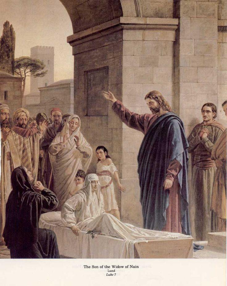 Ressurreição do filho da viúva de Naim. .
