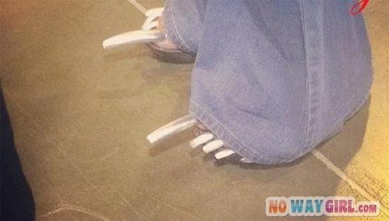 long toe nails