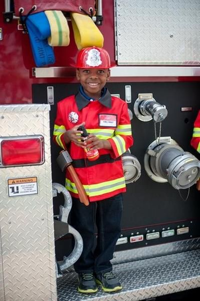 Great Pretenders Firefighter costume!