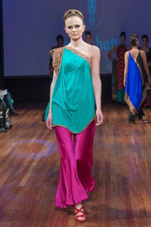 Fashion: Sonya Battla at Alchemy Fashion Royal Festival Hall South Ban