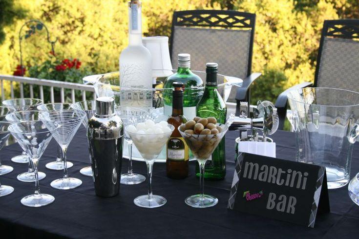 martini bar party ideas - Google Search
