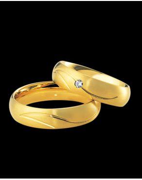 Βέρες Breuning χρυσός  K8-K14-K18  με Διαμάντι