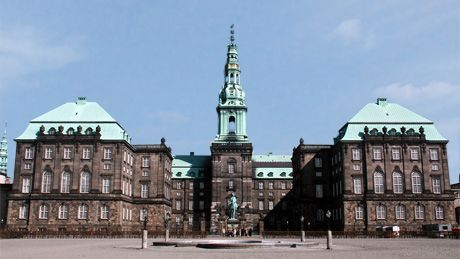 Christiansborg Slot. Home of Danish Parliament and frequently used by the Queen at formal occasions