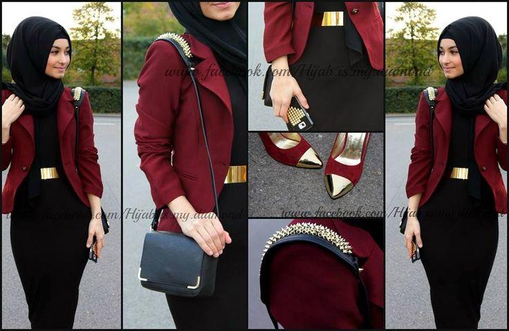 Fashionable Golden Belts ~ Hijab Vintage