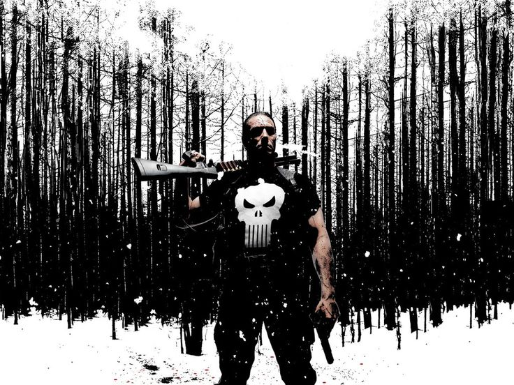 the punisher wallpaper the punisher pinterest the o