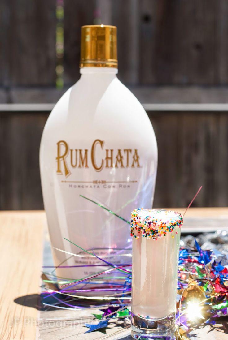 Confetti (2 ozs Rum Chata 1 oz cake vodka)