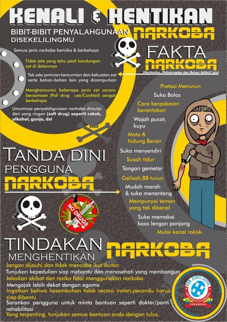 Pin Di Poster Anti Narkoba Poster Antinarkoba Com