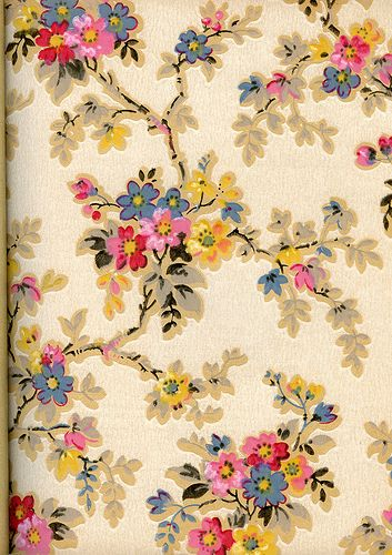 The Effie vintage wallpaper 30s