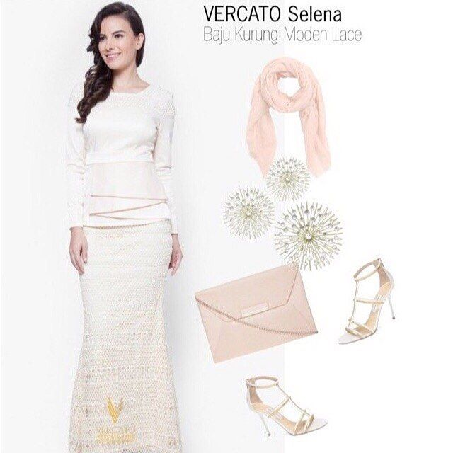 Welcome spring with this lovely set of Kurung Modern OOTD!  . Shop Online now at 50% Off at vercato.com | Worldwide Delivery Is Available | Free Shipping Nationwide . #vercato #kurungmodern #bajukurung #muslimah #hijabfashion #zalora #sale