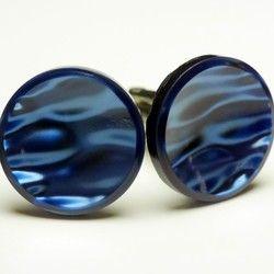 Cufflinks 深いブルーの世界を表現するカフスボタン Advanced 102