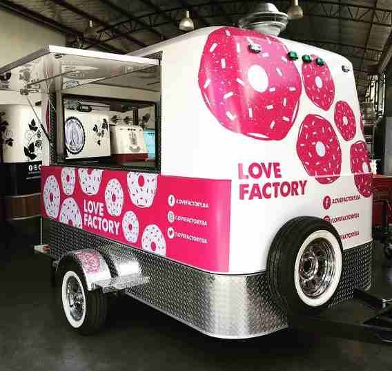 Trailer Gastronómico, Food Truck, Patentado De Fábrica Lcm!