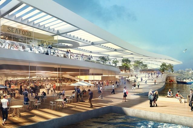 Danish architecture practice 3XN will lead a design consortium for the $250 million-plus new Sydney Fish Market.