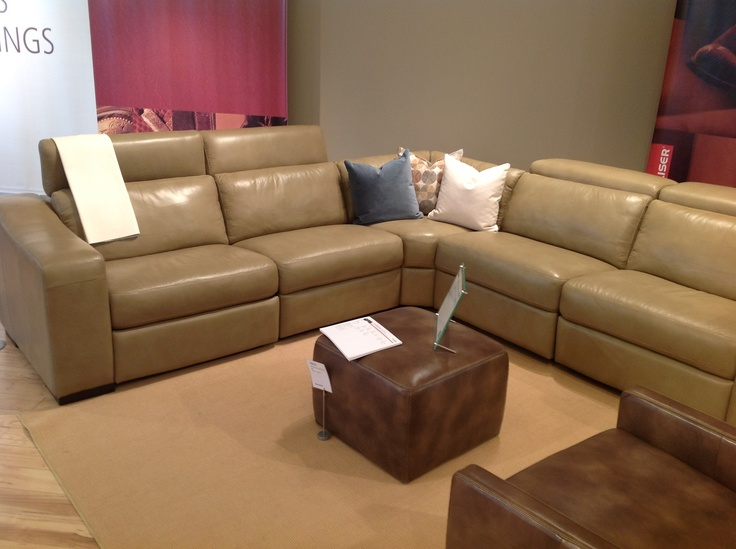 A Contemporary Version Of The Power Motion Sectional, From Palliser. Great  For The Family
