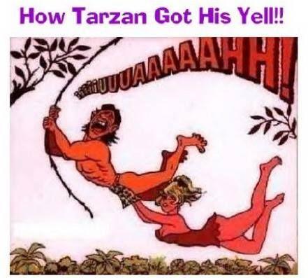 Τι τραβάει κ η Τζέην για τον Ταρζάν!