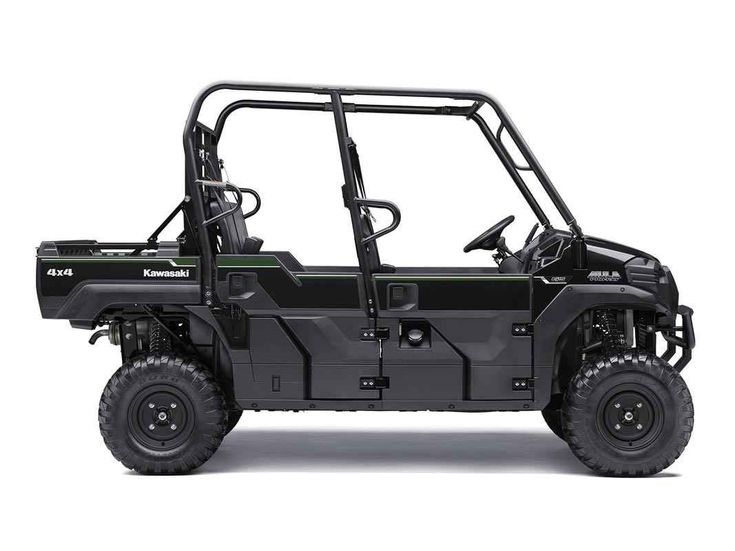 New 2016 Kawasaki Mule Pro-FXT™ EPS ATVs For Sale in North Carolina. In addition to the strength and power of the Mule Pro-FXT™ side X side, the EPS version has electric power steering that self-adjusts to deliver steering assistance based on speed. Versatile three- to six-passenger Trans Cab™ Powerful 812cc three-cylinder, liquid-cooled, fuel-injected (DFI®) engine Continuously Variable Transmission (CVT) w/ HI/LO range and reverse Up to 2,000 lbs. of towing capacity and 1,000-lbs.