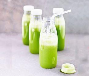 En juice som ger skön skjuts åt hela kroppen. Lite kryddig i tonen tack vare bleksellerin. Färgen kommer däremot från färsk spenat. Smaken fulländas sedan med både äpplen och päron och lime.