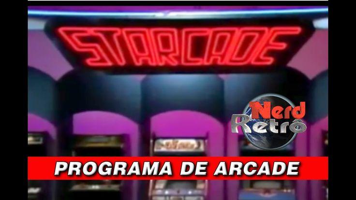 PROGRAMA DE TV STARGATE DE ARCADE PLAYER DOS ANOS 70 e 80