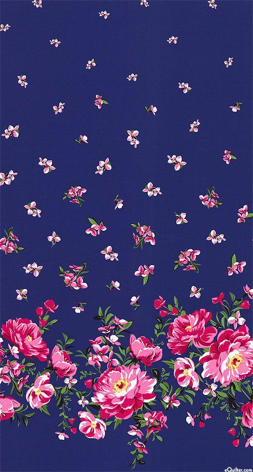 glitter pink vs wallpaper flowers