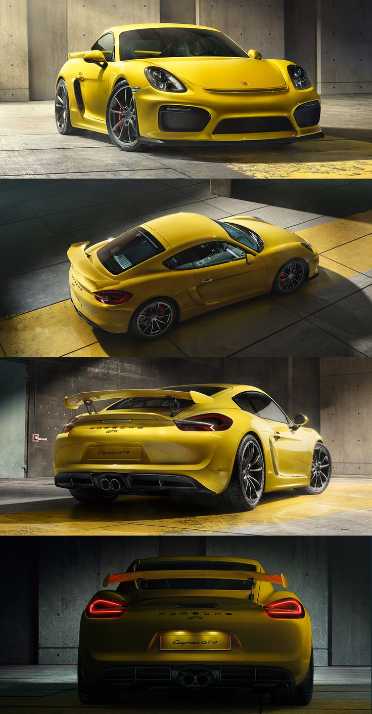 The new Cayman GT4 gets closer to the tarmac: its body sits 30 mm lower than that of the Cayman. The advantage being a lower centre of gravity for especially sporty handling. *Combined fuel consumption in accordance with EU 6: 10.3 l/100 km; CO2 emissions; CO2 emissions: 238 g/km