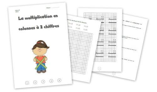 62 best images about multiplications on pinterest - Reviser les tables de multiplications ...