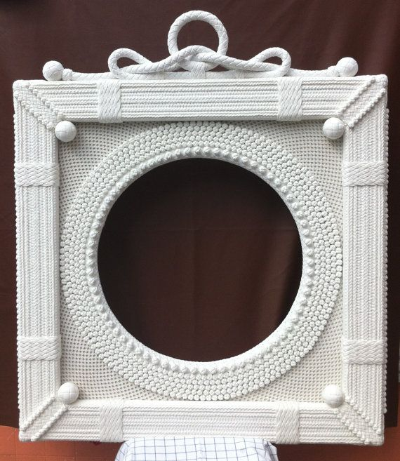 museum quality nautical picture frame by luxuryropeworkshop - Nautical Picture Frames