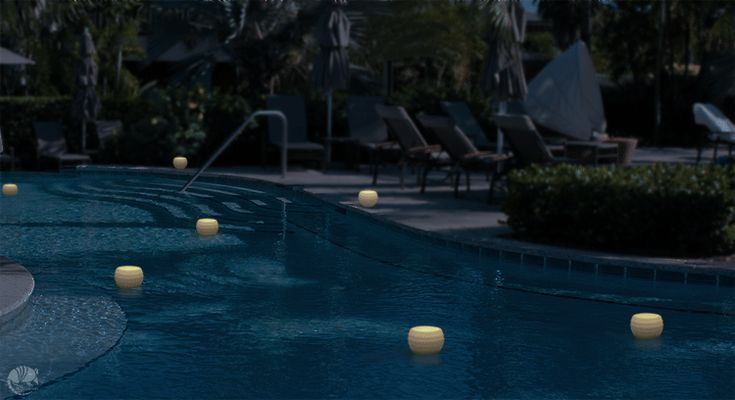 17 best images about floating pool candles on pinterest for Reusable luminaries