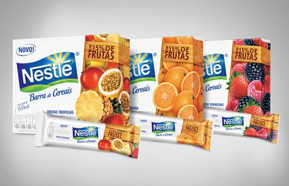 Nestle Cereal Bars 4 #packaging