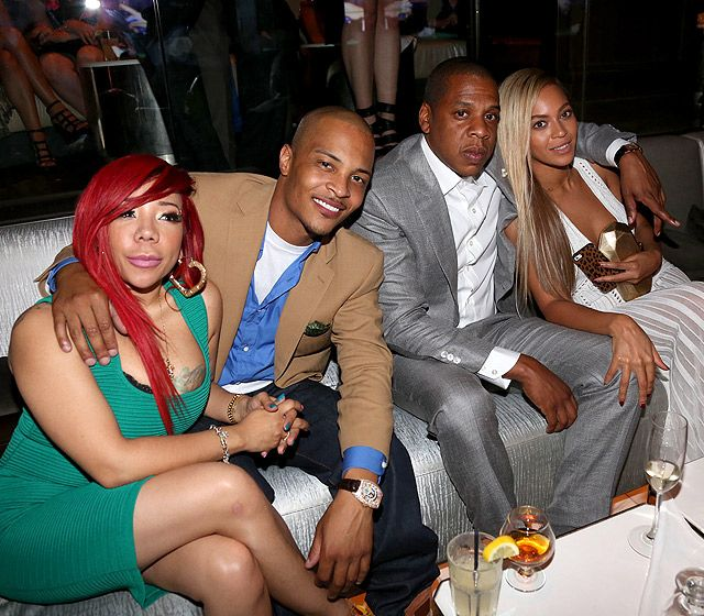 Tameka Cottle, T.I., Jay-Z and Beyonce