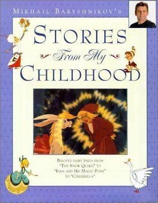 Mikhail Baryshnikov's Stories from My Childhood Beloved Fairy Tales Exlib 0810910179 | eBay