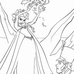 12 great disney frozen coloring pages print for free at home  princess coloring pages elsa