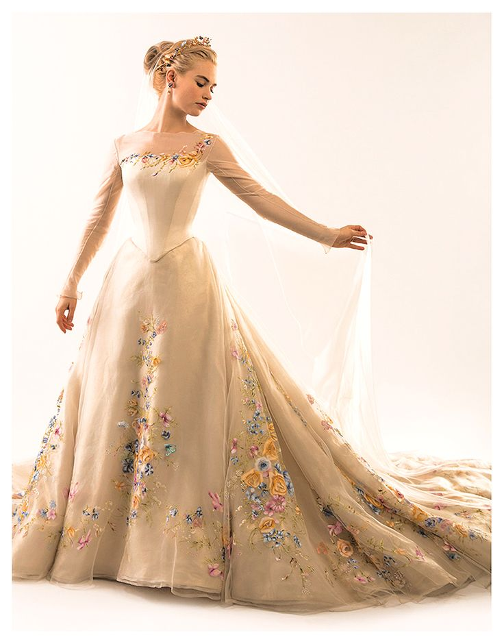 "disney-khaleesi: ""ashappyascori: ""didyouknowmagic: ""thefrogsnail: ""cinderella - 2015 "" This is some next level pretty. "" I'm weak. "" Hopefully this wedding will go better than the last time a Richard..."