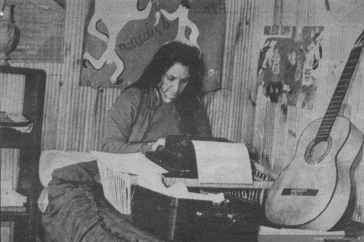 Violeta Parra, ca. 1955.
