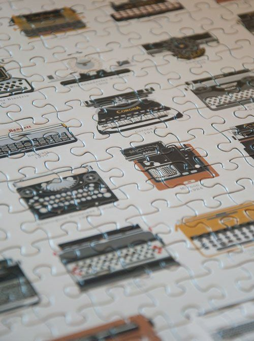 Pop Chart Lab | Design + Data = Delight | A Visual Compendium of Typewriters Puzzle