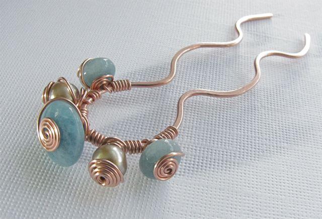 Περόνη για τα μαλλιά, ιδανική για έναν πλούσιο κότσο.  Χειροποίητος Γάμος www.gamos-diy.com