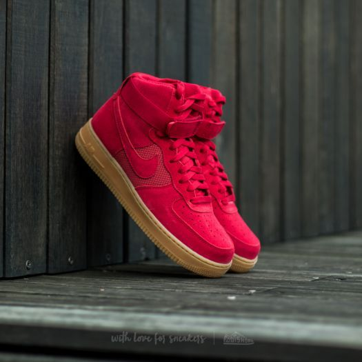 Nike Air Force 1 High ´07 LV8 Gym Red/ Gym Red za 2 990 Kč