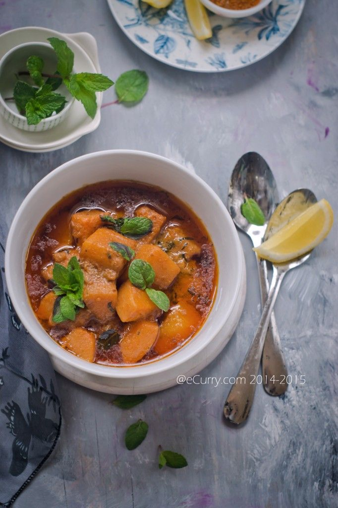 Butternut Squash with Harissa and Coconut Milk