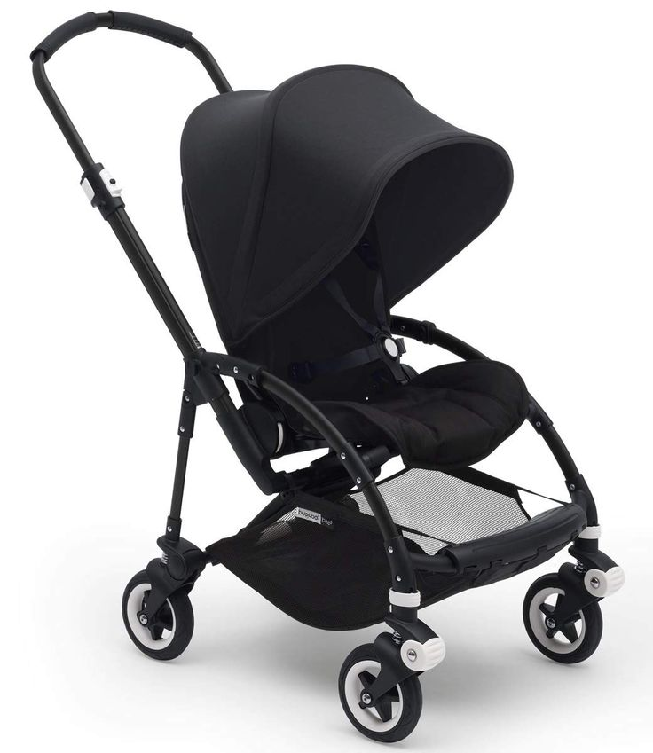 Bugaboo Bee5 Complete Stroller, Black/Black Compact