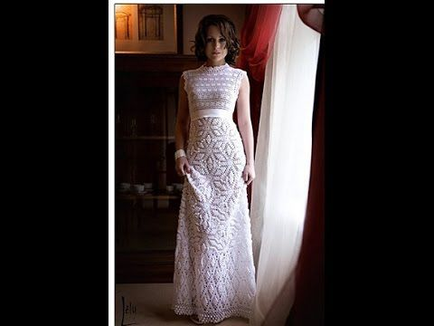 The 25 Best Crochet Wedding Dress Pattern Ideas On Pinterest