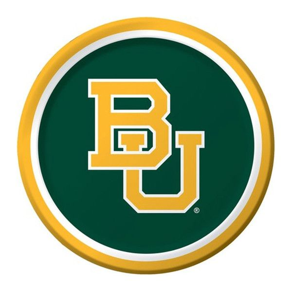 Descriptions Collegiate 9 inch Dinner Plates Baylor University/Case of 96 - Design : Baylor University - Size : 8.75 Dia. - Shape : Round Features - Material Paper - Baylor University - Size 8.75 inch