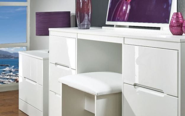 white gloss dressing table ideas - Google Search