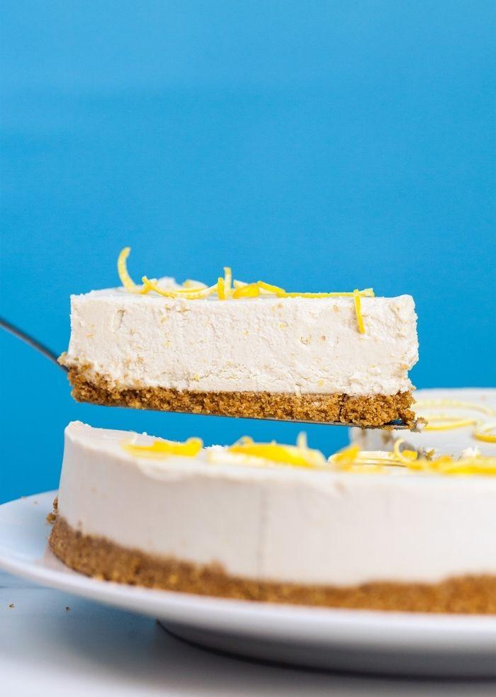 Philadelphia Torte Selber Machen Grundrezept Mit Zitrone Kuchen