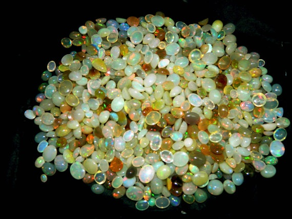 OpalAAA Ethiopian Opal Flashy Fire All by GemsPebblesandBeads, $3000.00