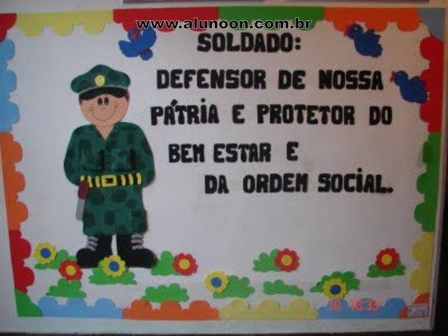 40 Atividades para o Dia do Soldado - Educação Infantil - Aluno On