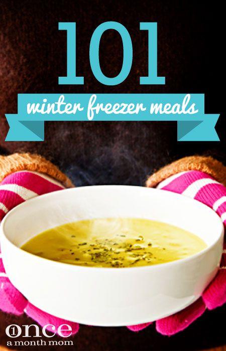 101 Winter Freezer Meals